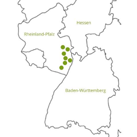 AC-Immobilien Karte und Geschäftsgebiet
